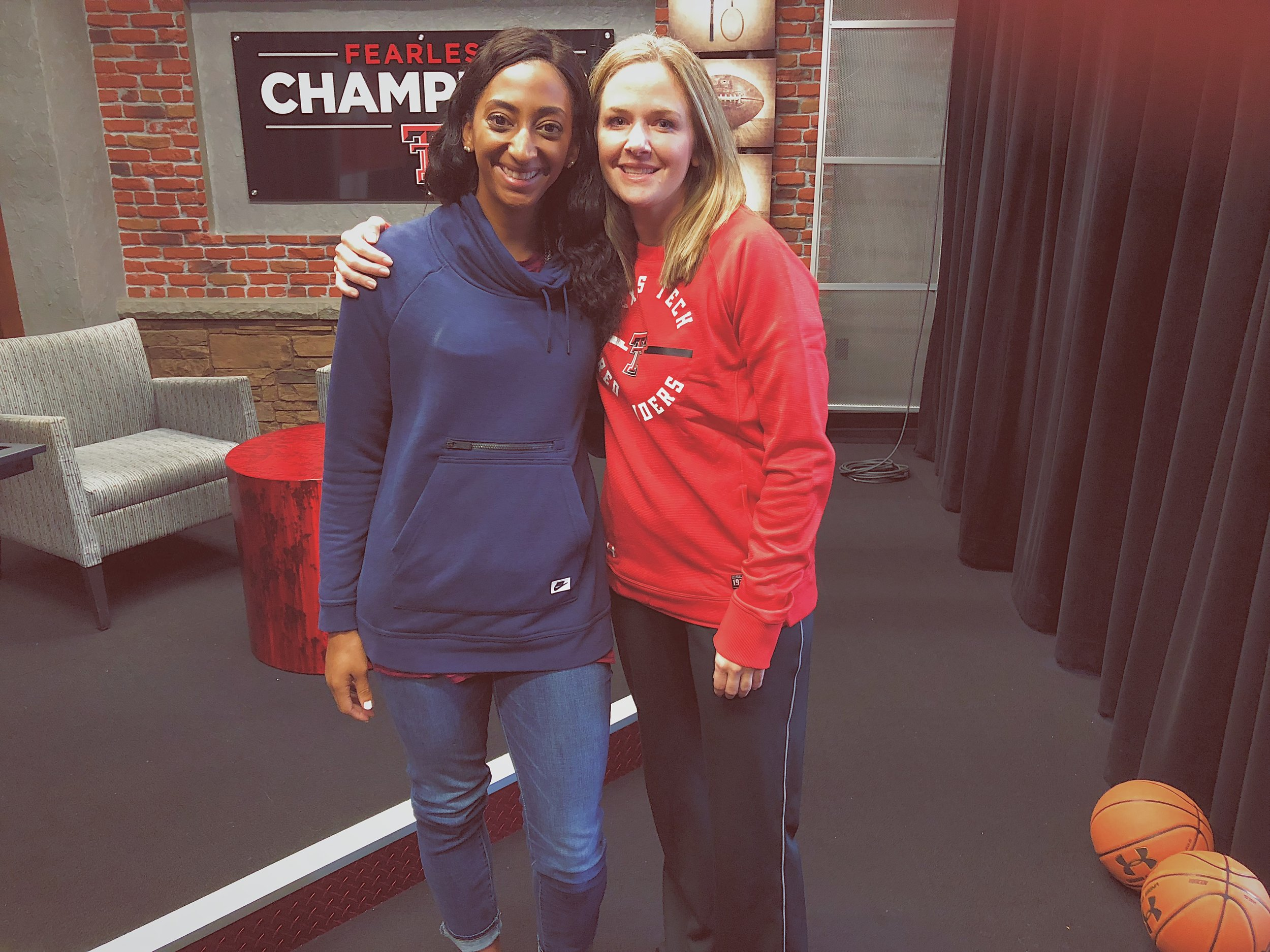 With Coach White❤️️