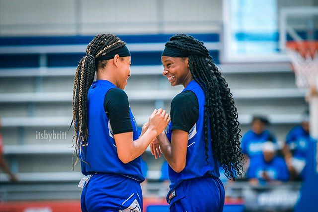 E ✖️T are backcourt goals💕🏀☺️ || @ehoops5 @twinhoops._