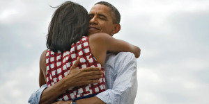 Doesn't this photo just make you feel ridiculously fuzzy and content? A major part of social branding is the ability to evoke some sort of emotion from visual imagery. Photo: @BarackObama