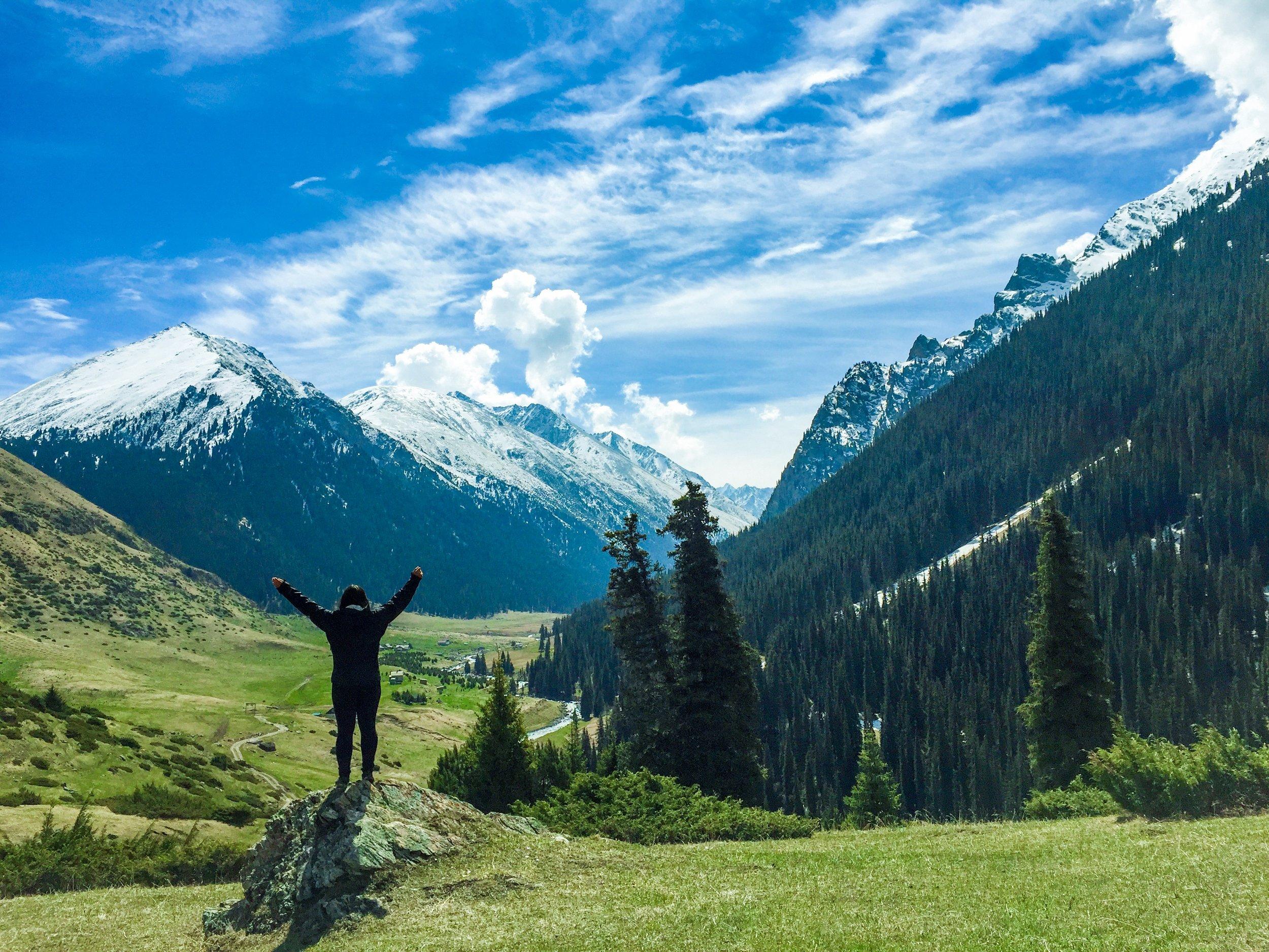 Altyn Arashan Valley, Kyrgyzstan