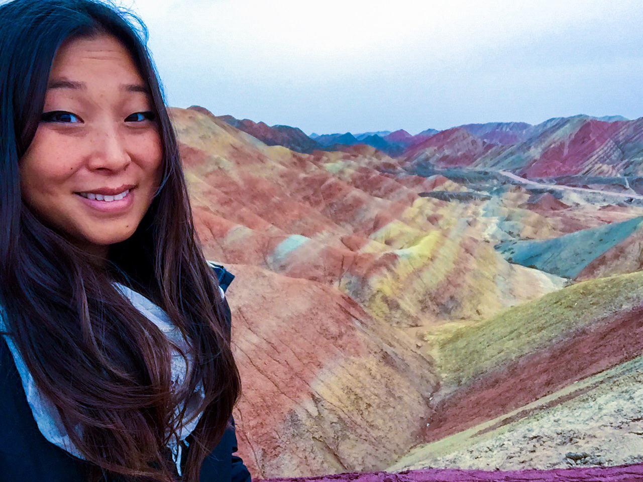 Danxia Rainbow Mountains, China
