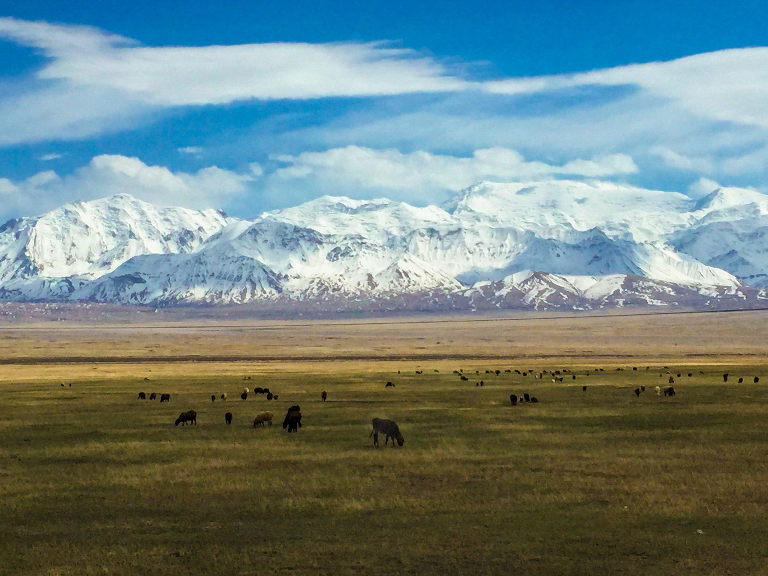 Never-ending Tajik Mountains, Tajikistan