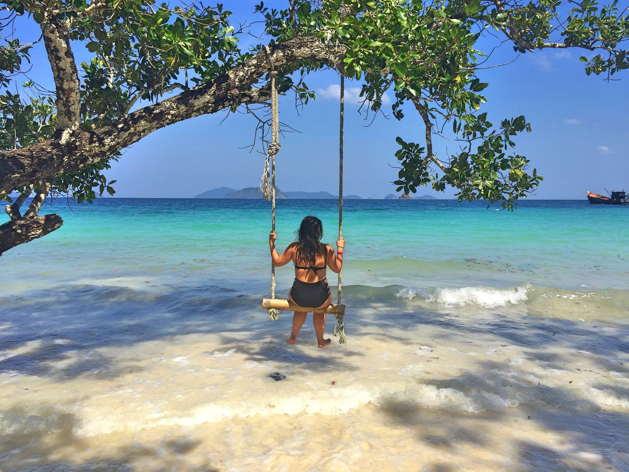Mergui Island Swinging, Myanmar