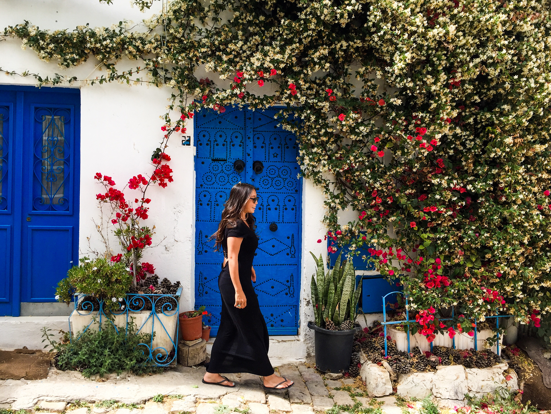Quaint Sidi Buo Said, Tunisia