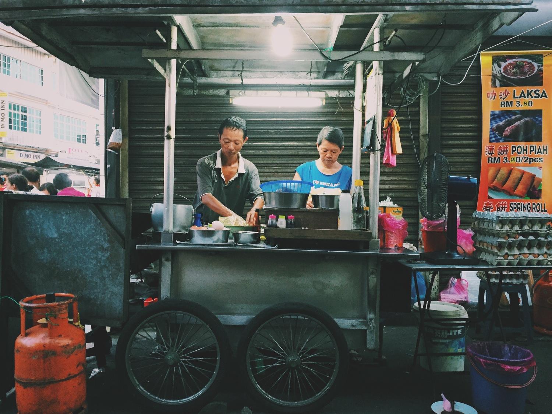 Kauy Theow Food Stall, Penang, Malaysia