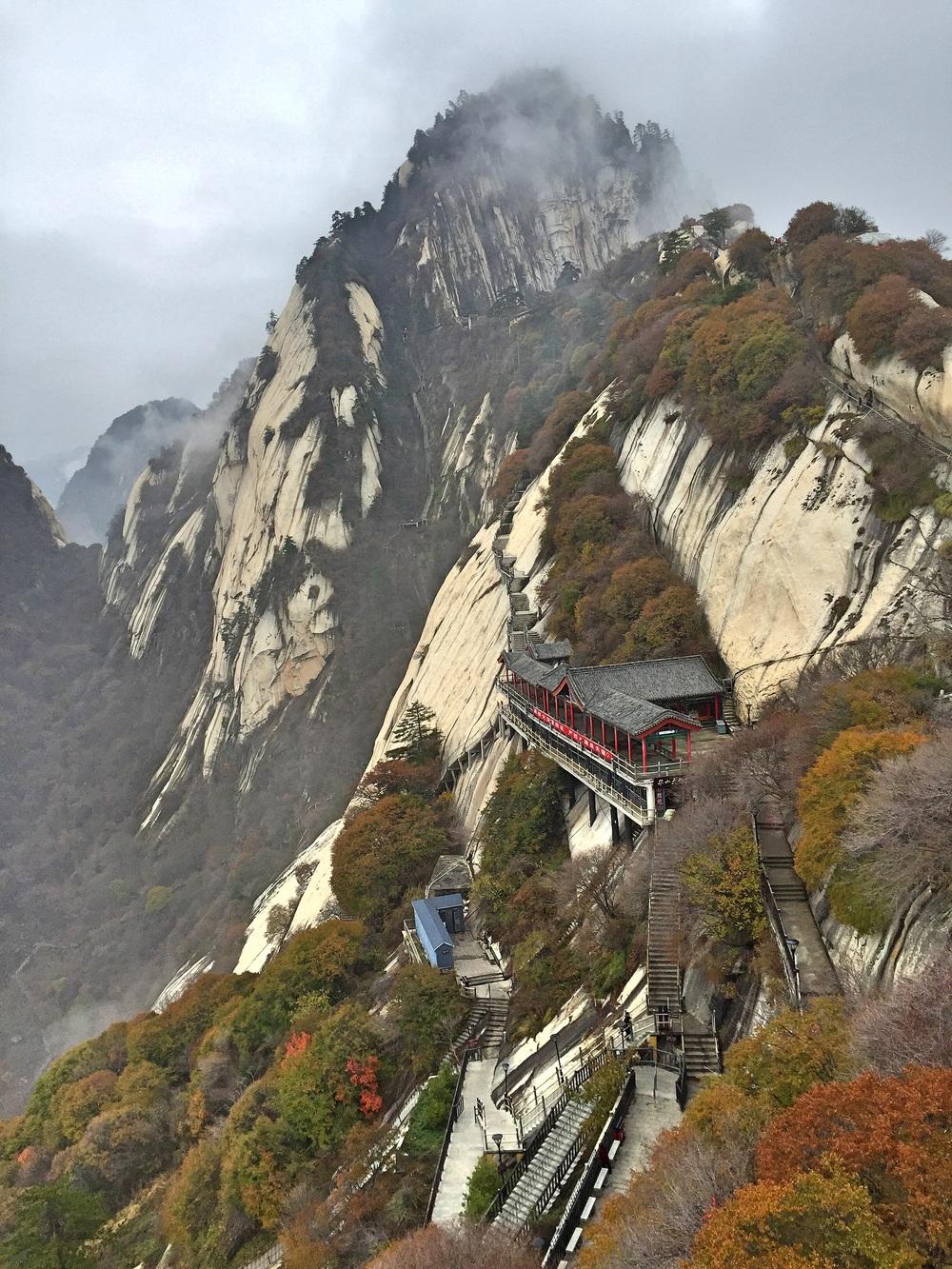 Cliffside Monastery, Huashan, China