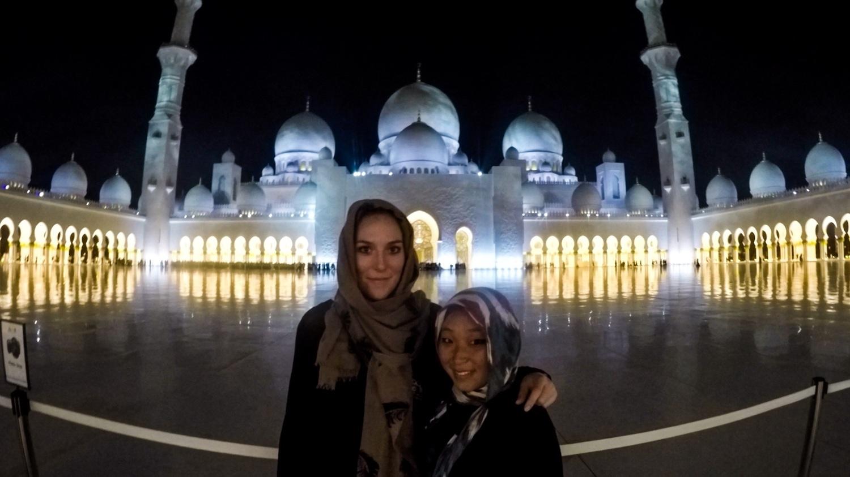 Reunion in Abu Dhabi, United Arab Emirates