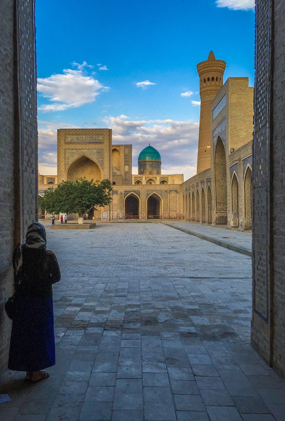 Poi Kalyan at Closing, Bukhara, Uzbekistan