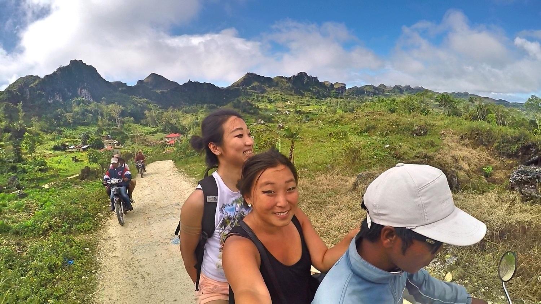 Living on the Edge, Osmeña Peak, Bohol Island, Philippines