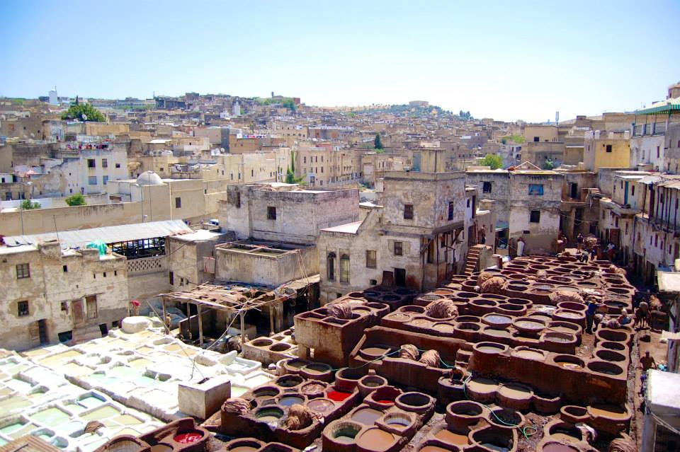 Leather Tanneries, Fez, Morocco