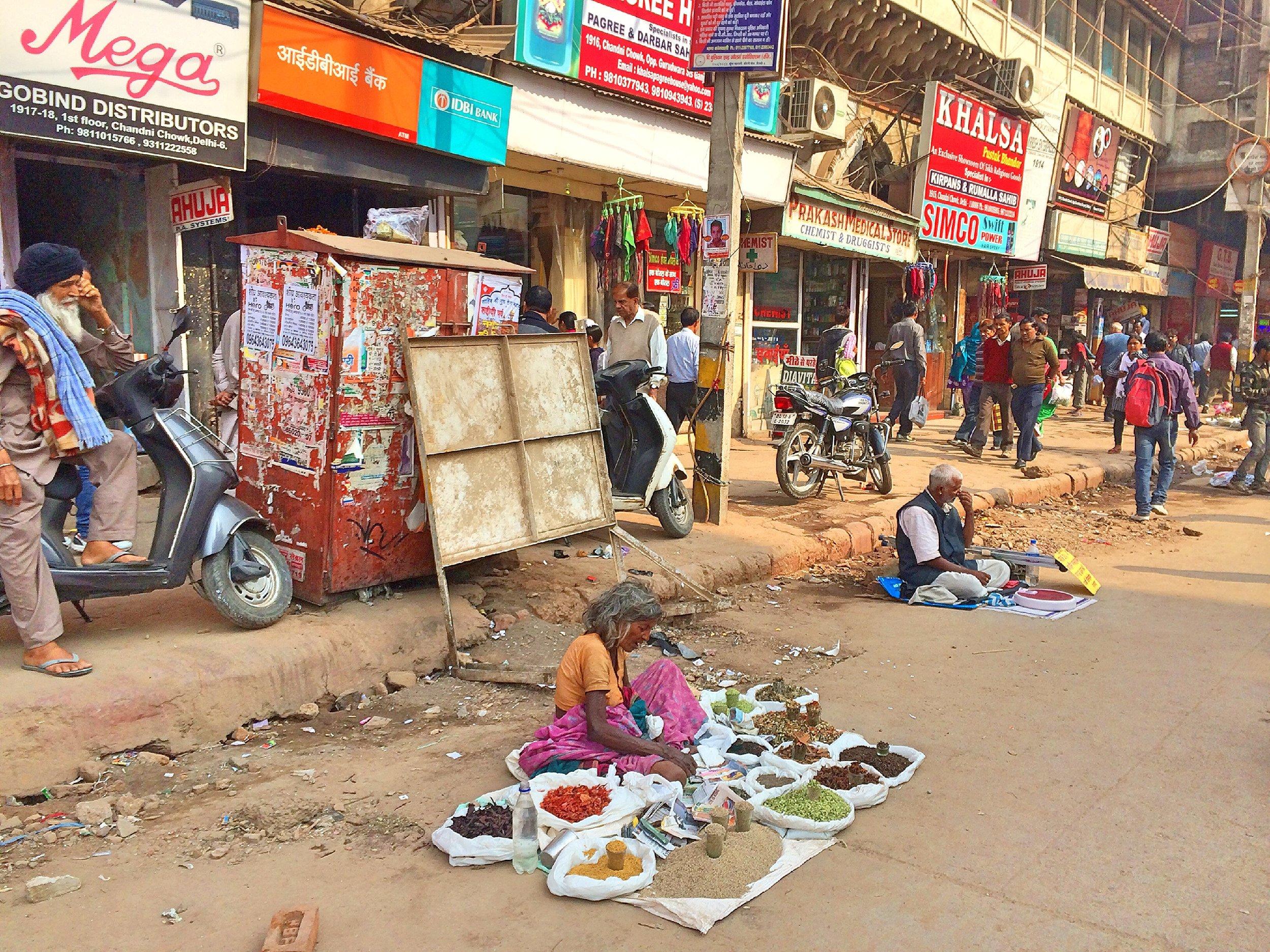 Street Markets, New Delhi, India