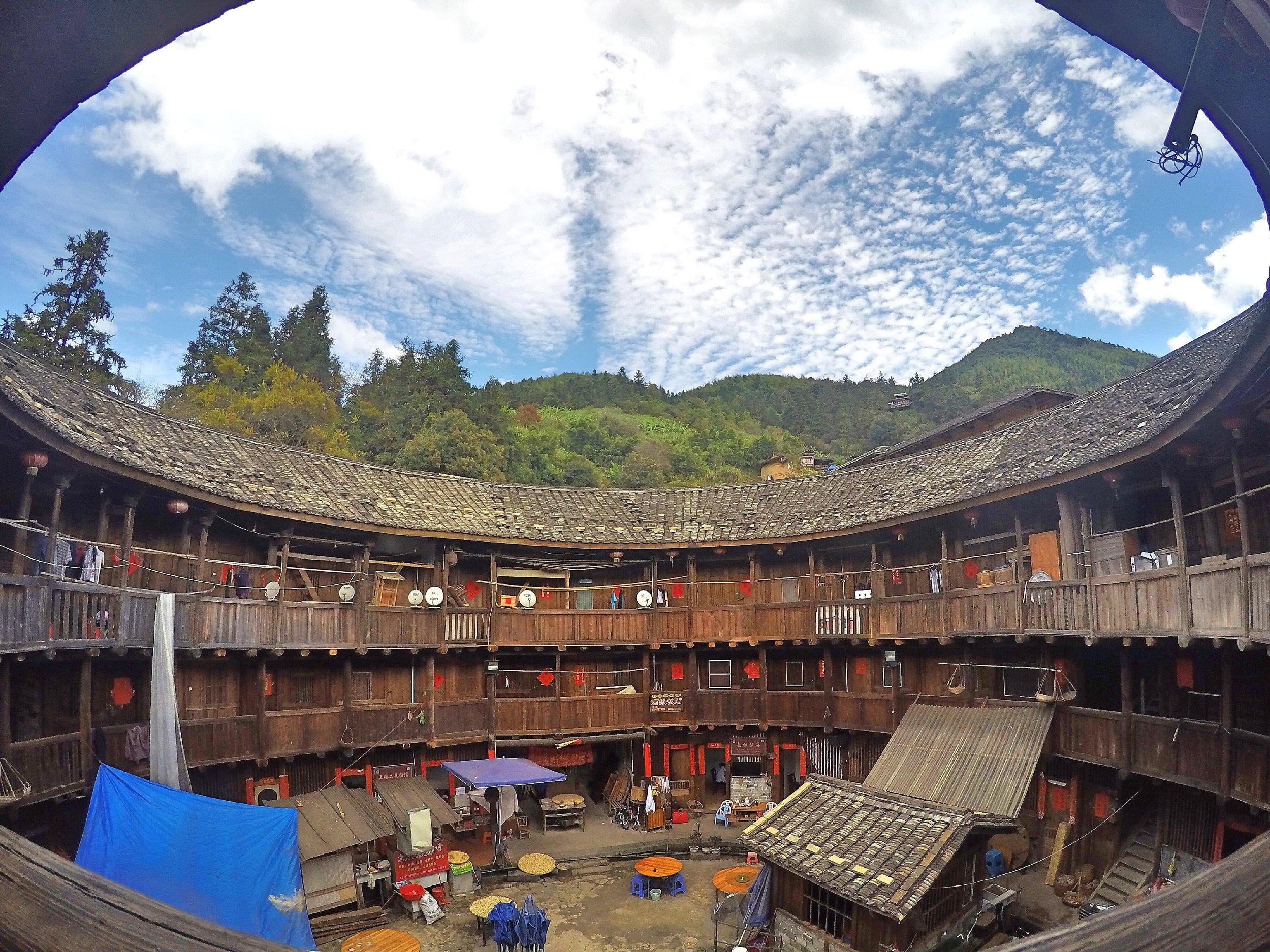 Tulou, Fujian Province, China