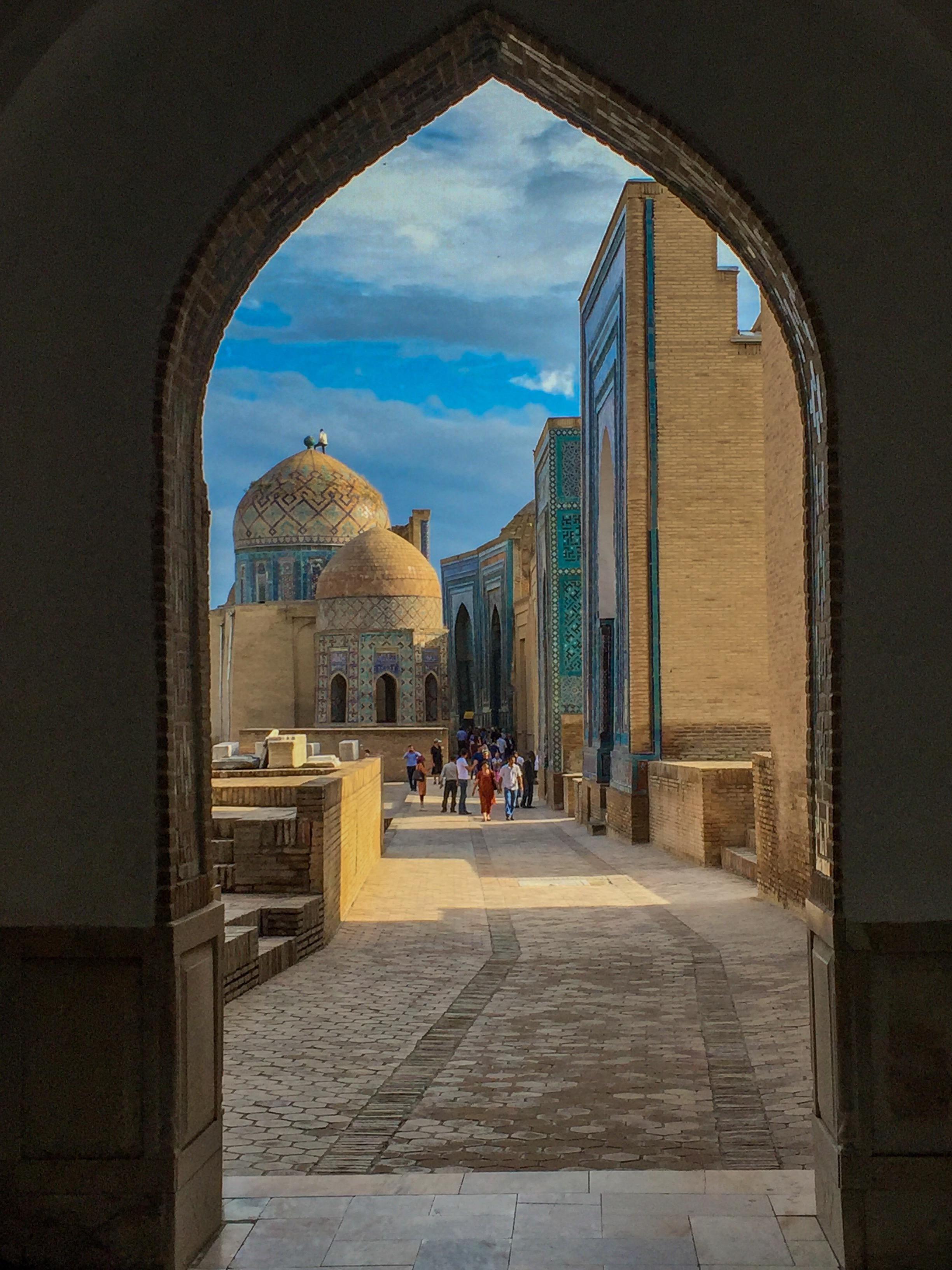 Shah-I-Kinda Mausoleum, Samarkand, Uzbekistan