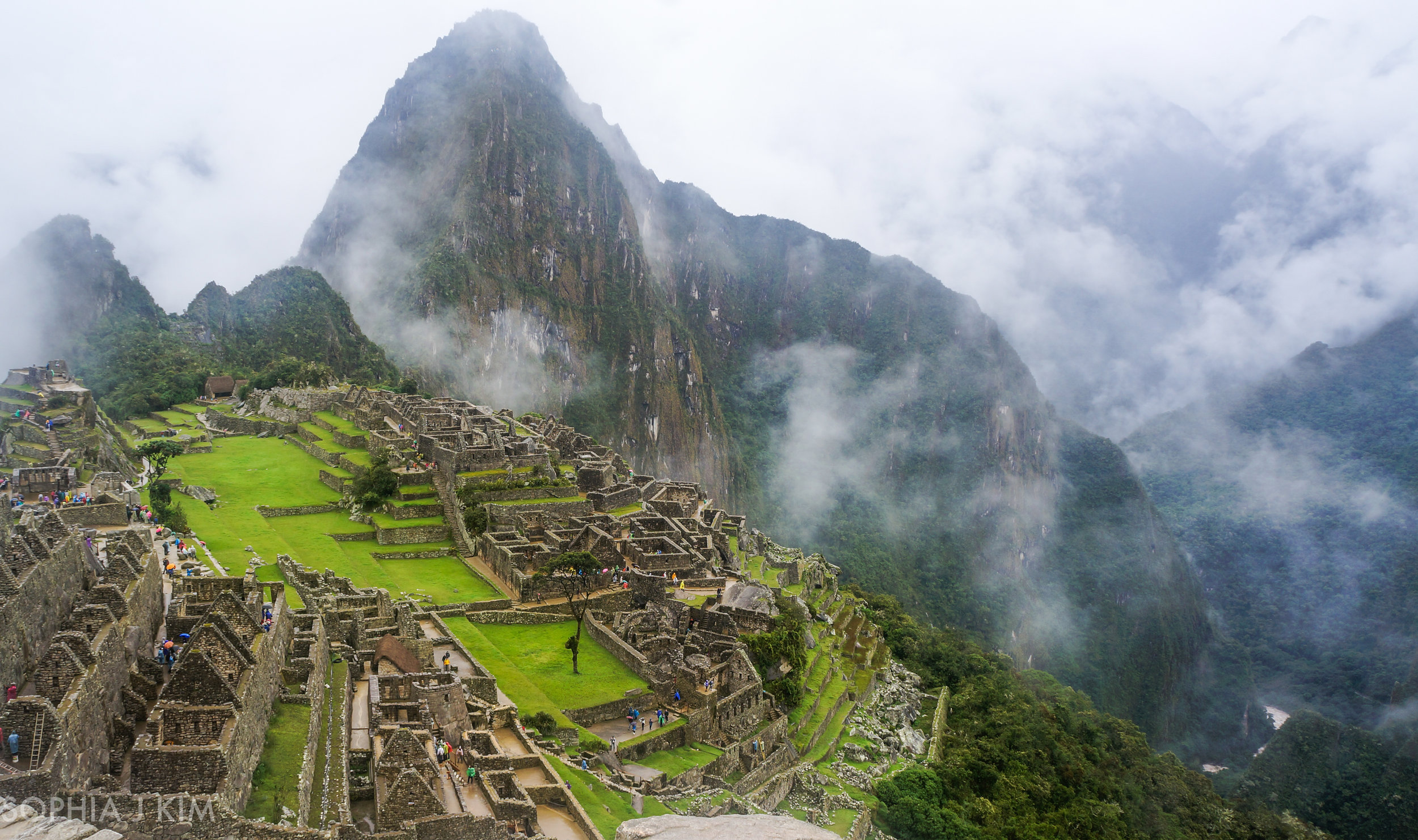Views of Machu Picchu after the Inca Trail