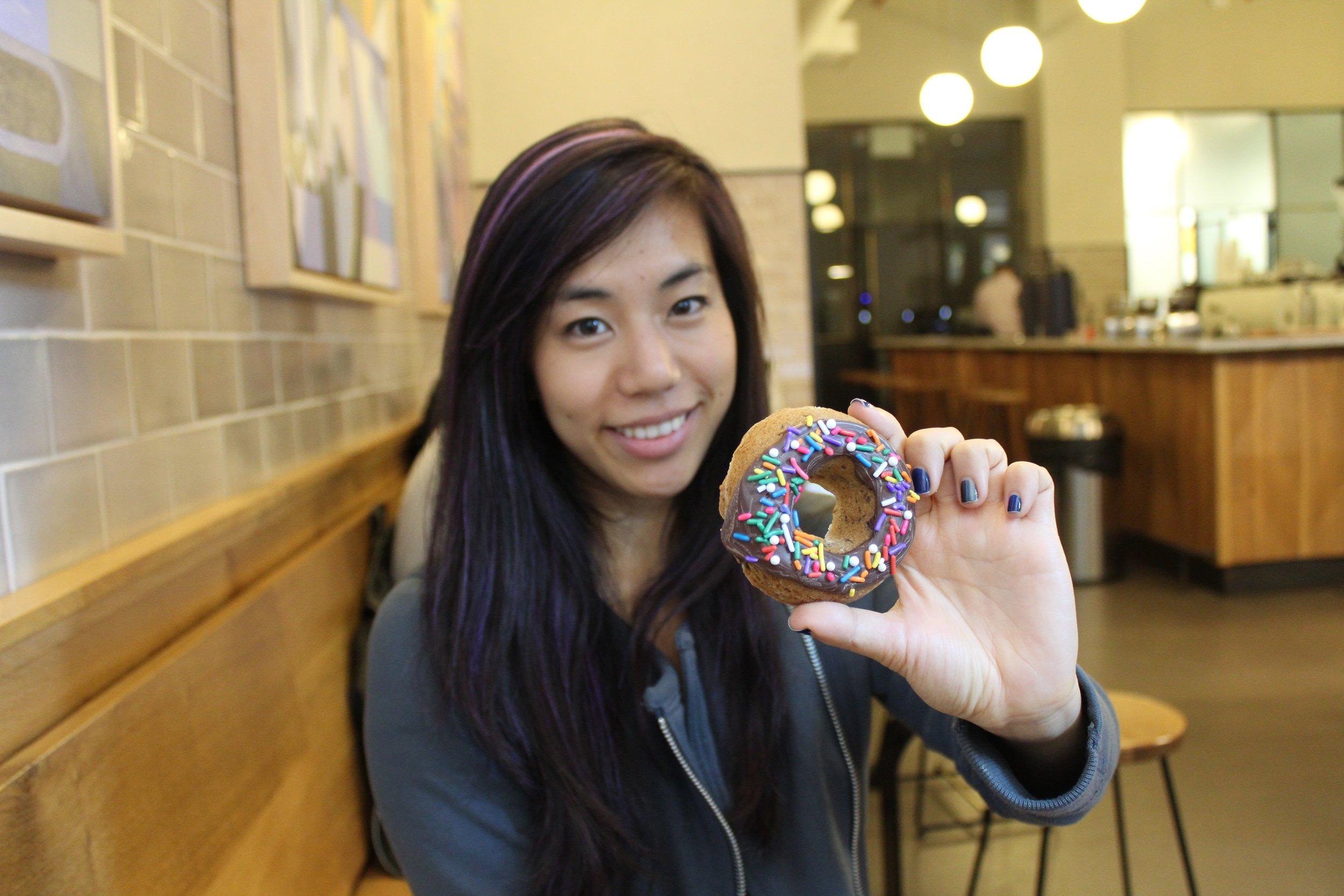 Allison Kimchi- donut cookie
