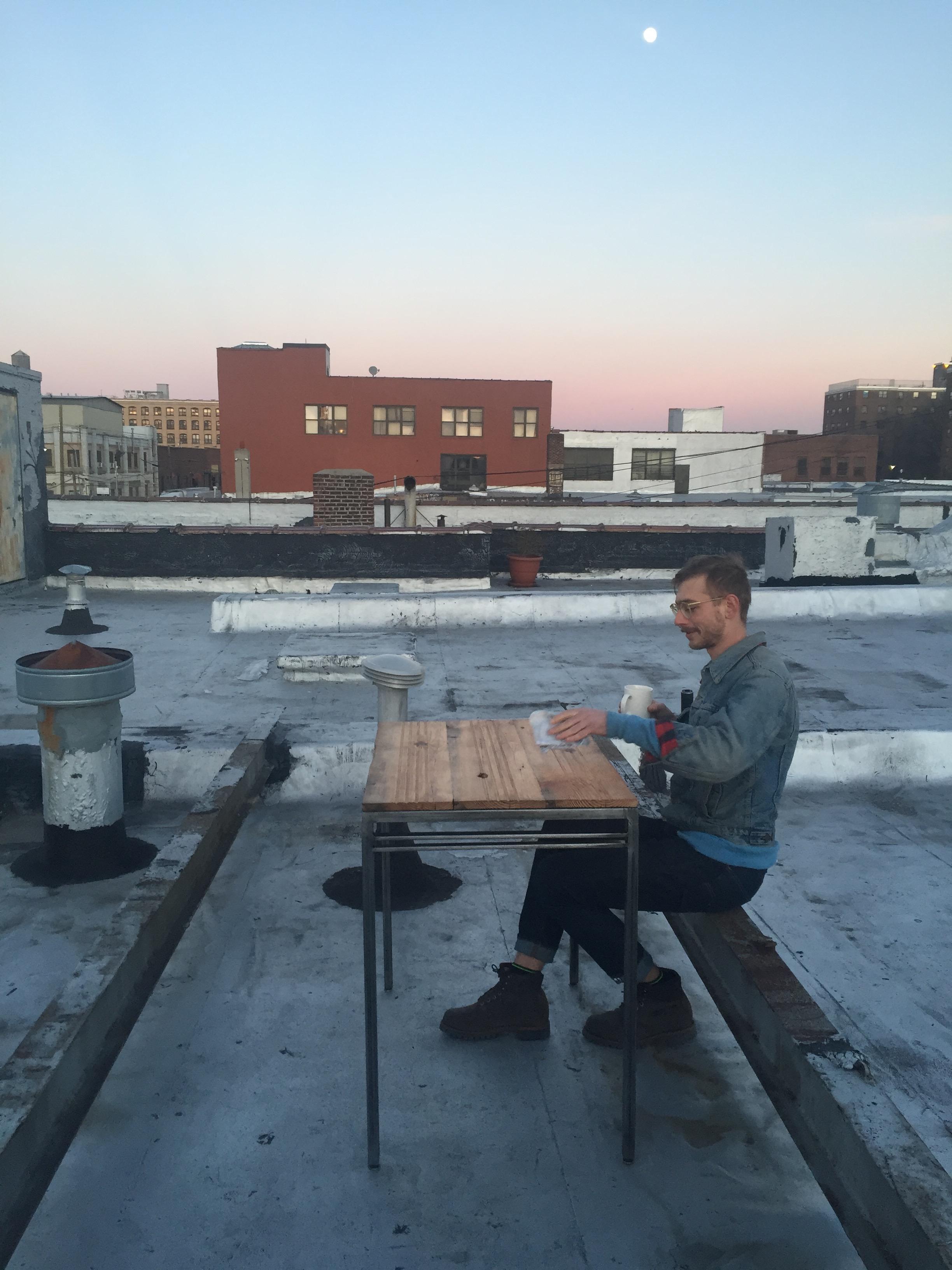 railroad table rooftop moon.jpg