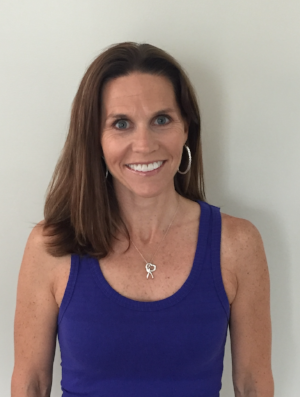 "Kim Grispo - Understands the ""beautifully imperfect"" lifestyles of her students.  She encourages self-exploration and self-compassion, she provides students opportunities for challenges on and off the mat. She would love to support you as you make positive changes in your life."