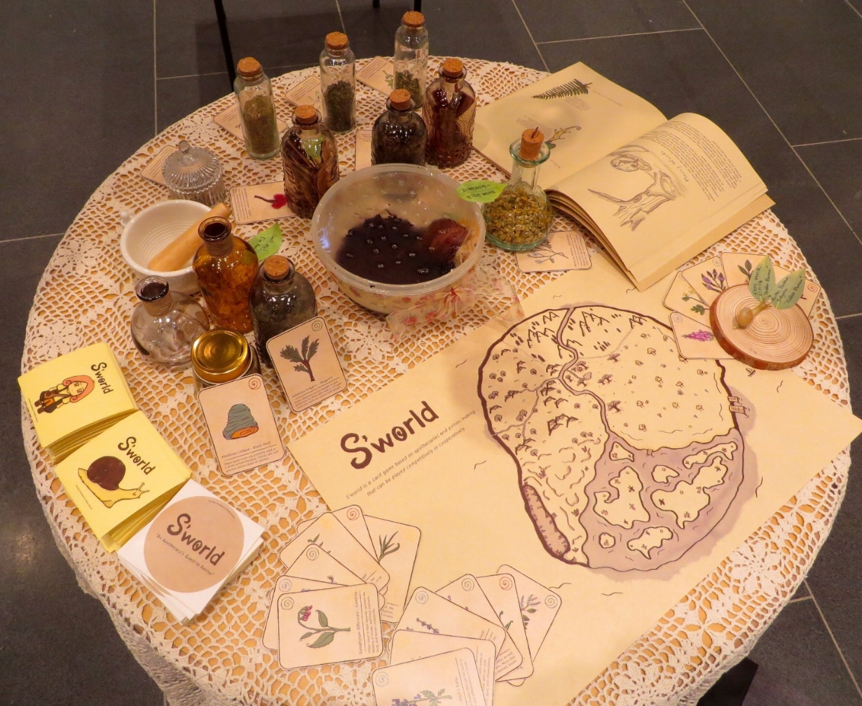 Main Table for Exhibition