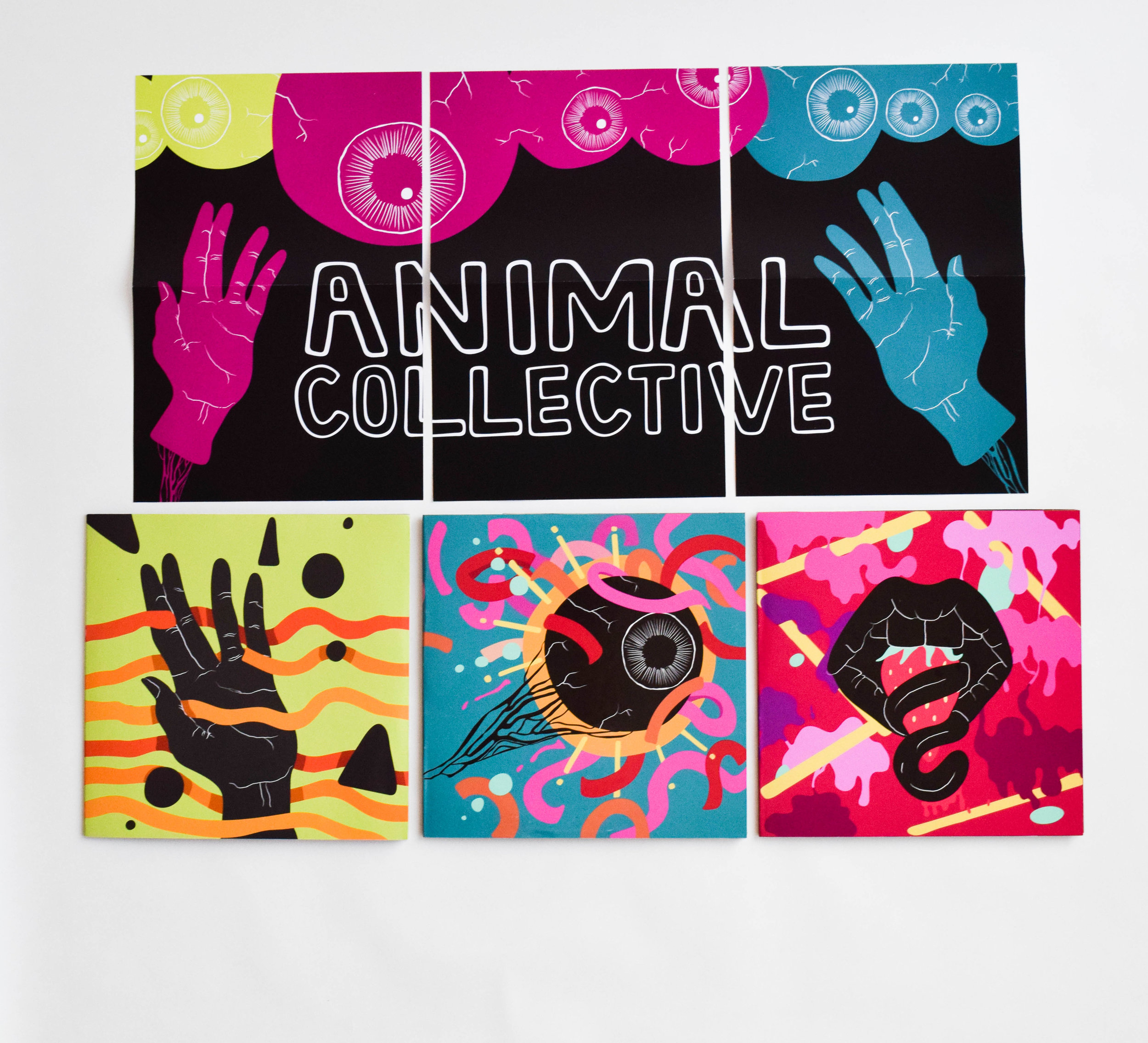 Animal Collective Vinyl Set
