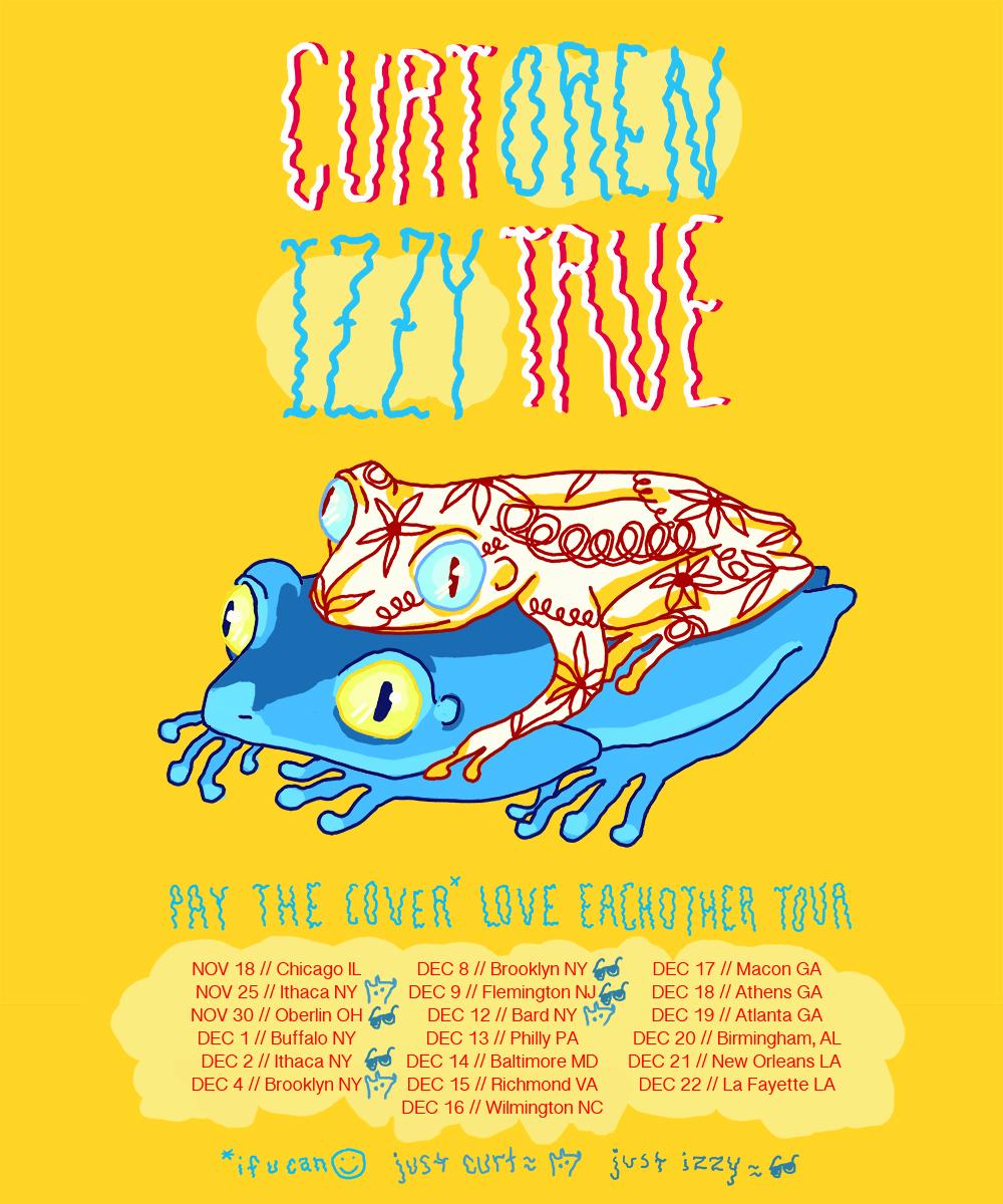 Curt Oren + Izzy True 2017 Tour poster