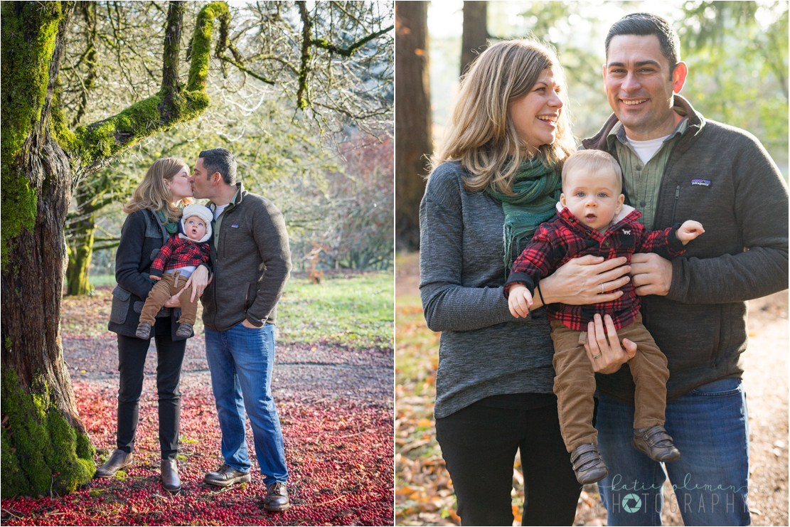 If you've seen my gallery, you may recognize Jenny and Joe. I had the pleasure of taking their maternity photos almost a year ago at Cathedral Park and since then, Mr. Emmett has joined their family. At 9 months old, this little guy is a dancer, a ham for the camera, and has the most gorgeous eyes. Thank you for letting me photograph your family and I hope you enjoy the photos!