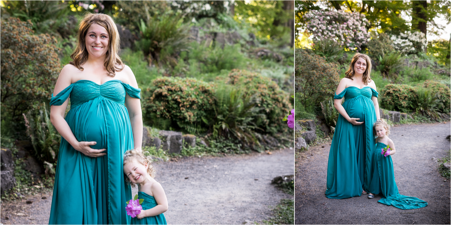 Portland Oregon Maternity Photographer
