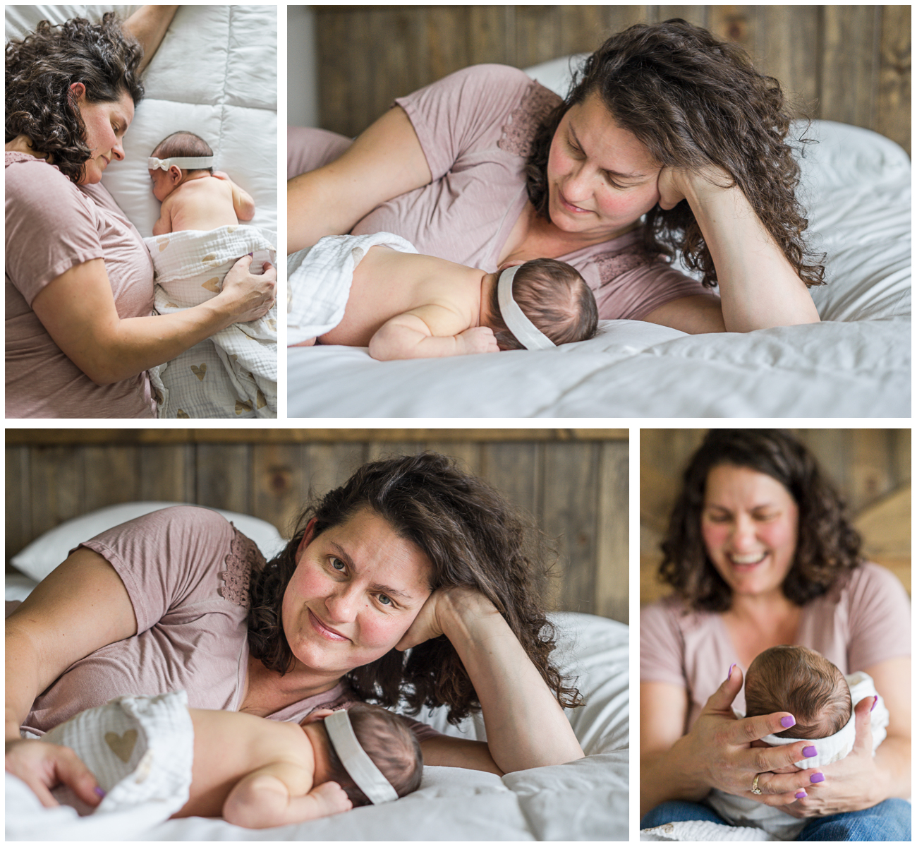 Lifestyle Newborn Session Newberg Oregon