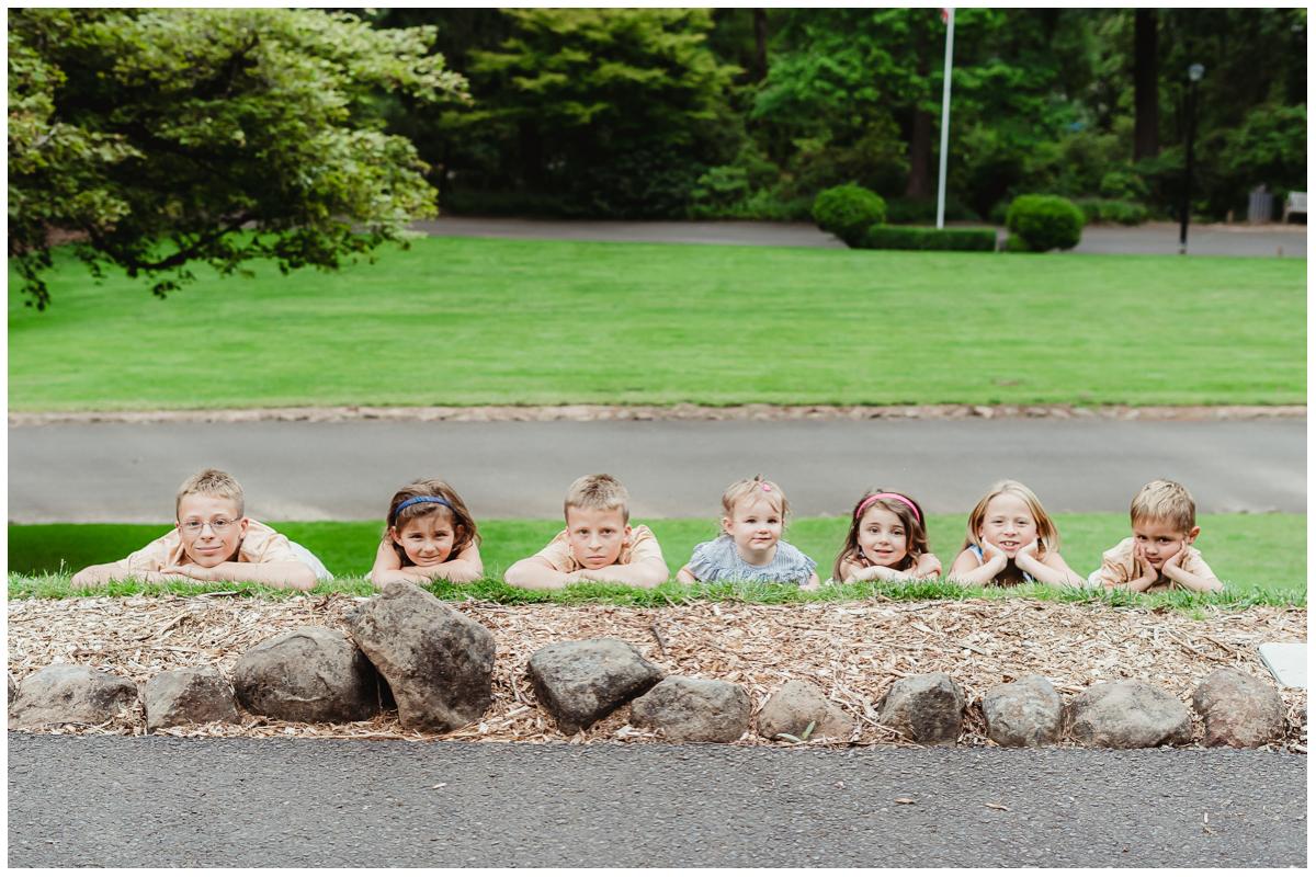 Extended Family Session Jenkins Estate Beaverton