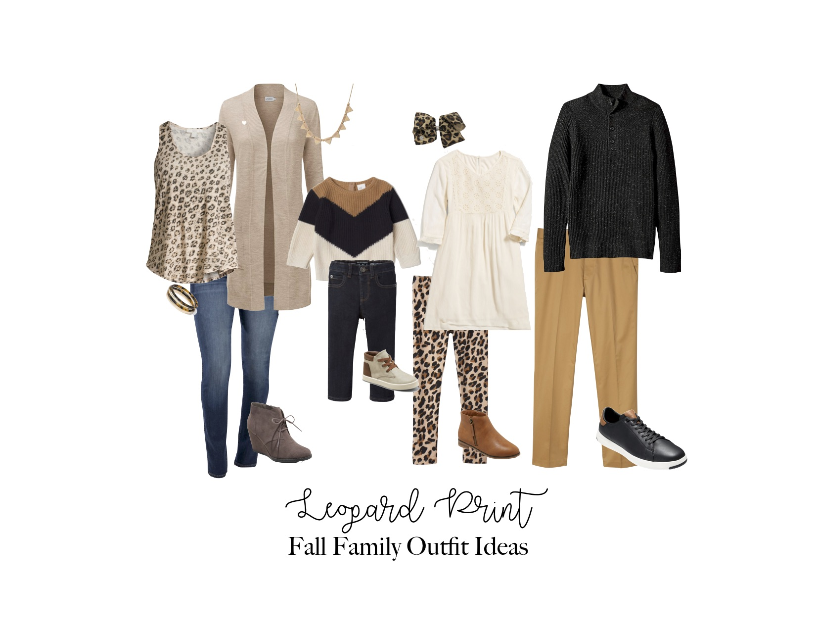 Leopard Print Fall Outfit Ideas