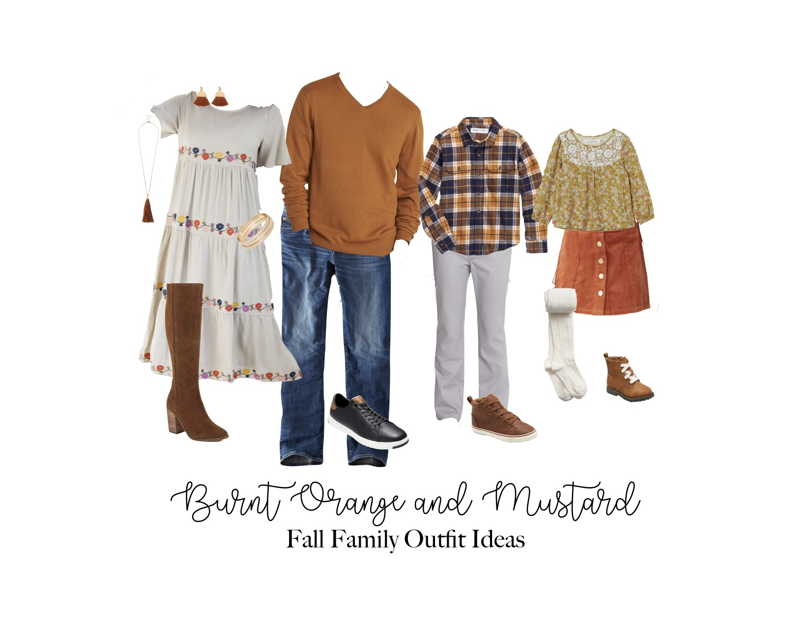 Burnt Orange and Mustard Fall Outfit Ideas