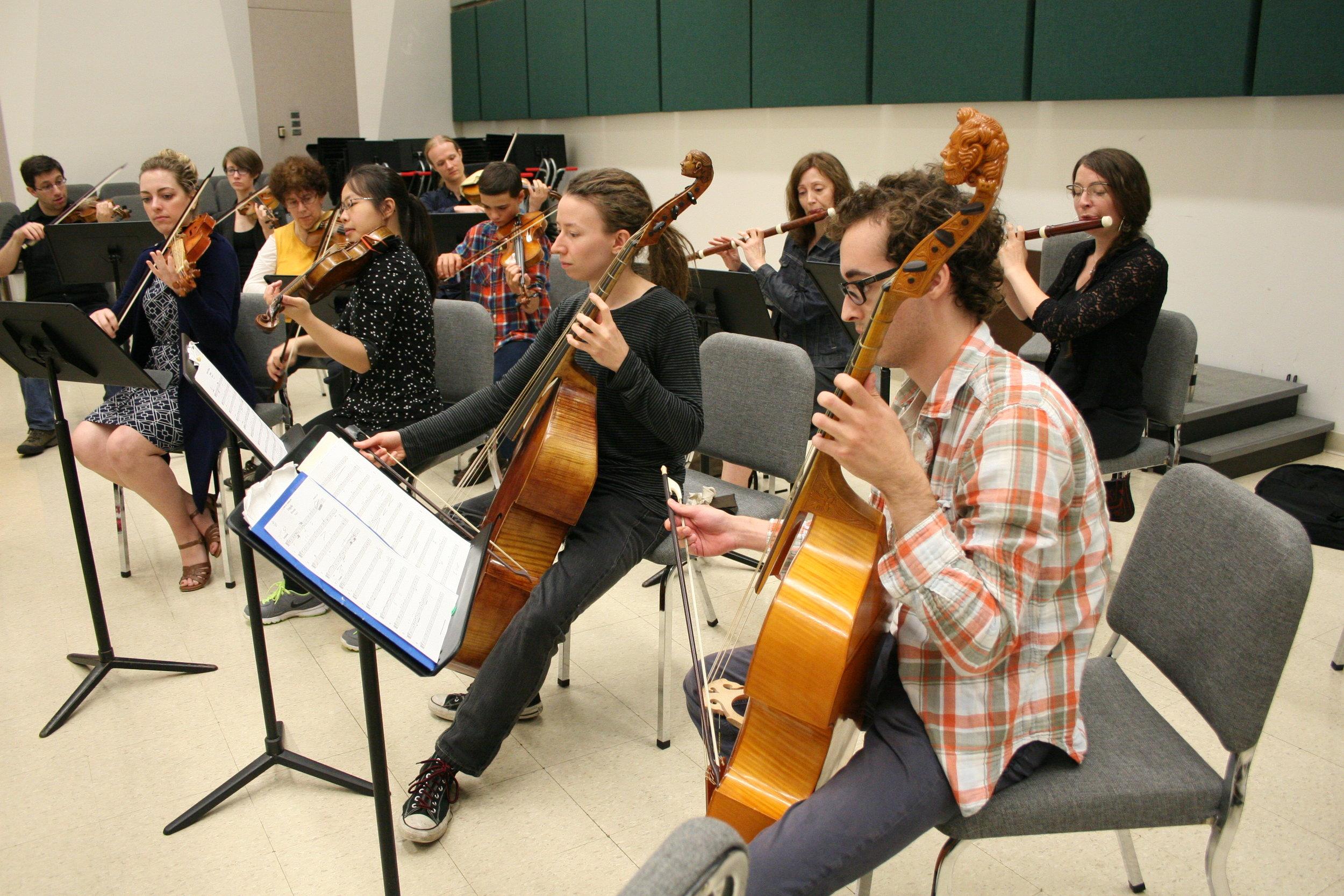 Twin Cities Baroque Instrumental Program — The Baroque Room