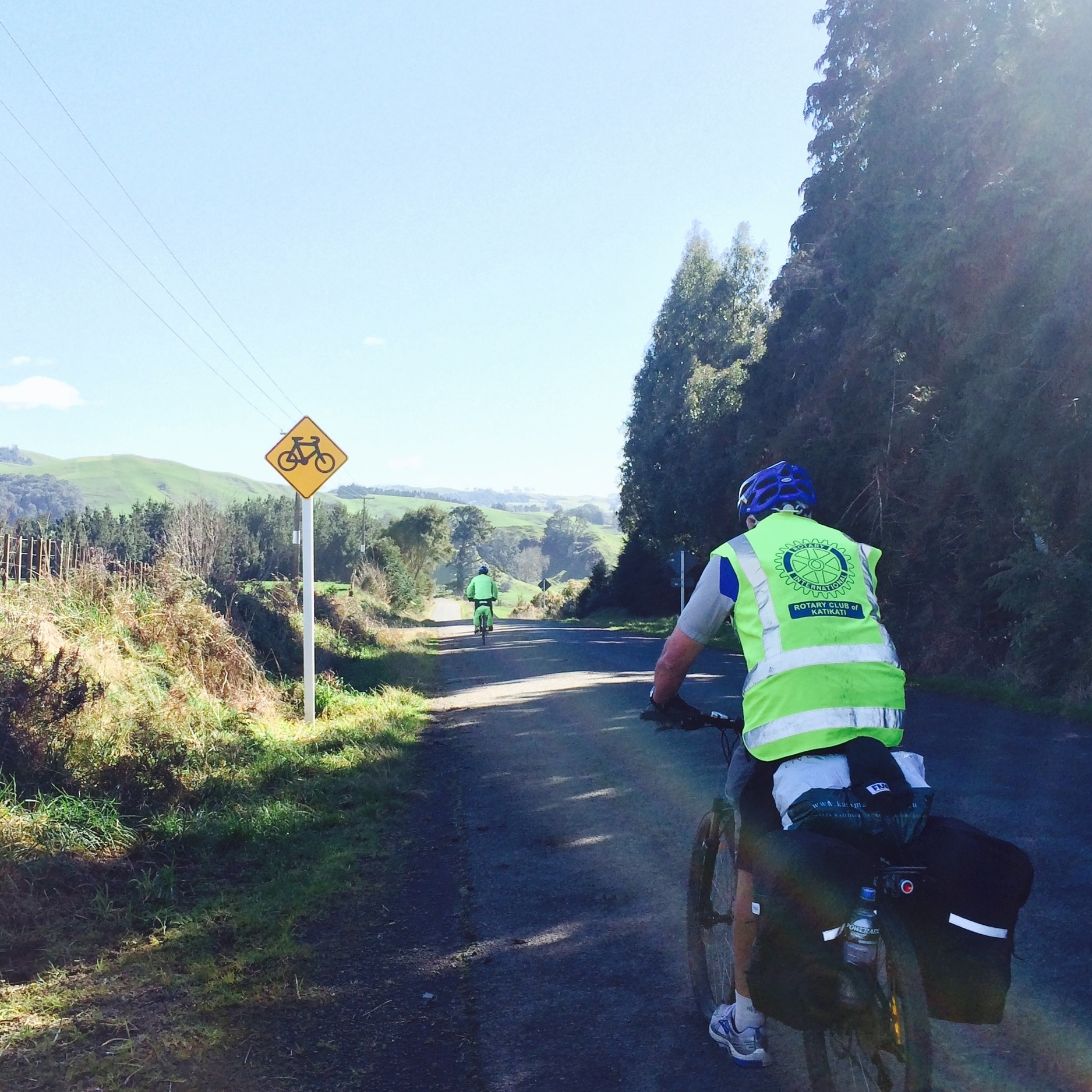 Rod Cycling from Paeroa to Arapuni