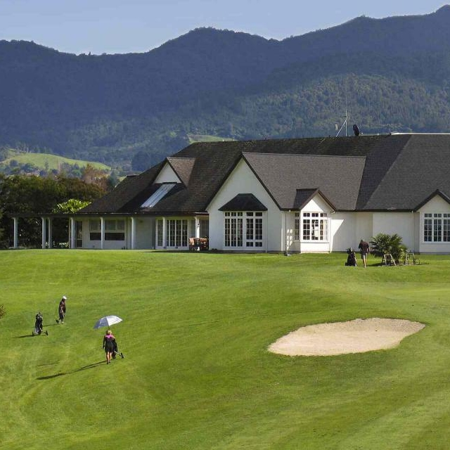 The green at Fairview Golf & Country Club