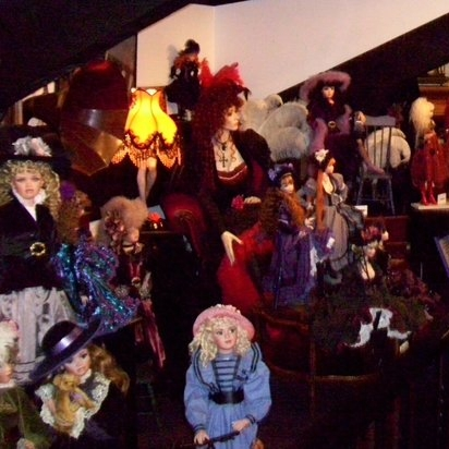 Doll collection at the Forta Leeza