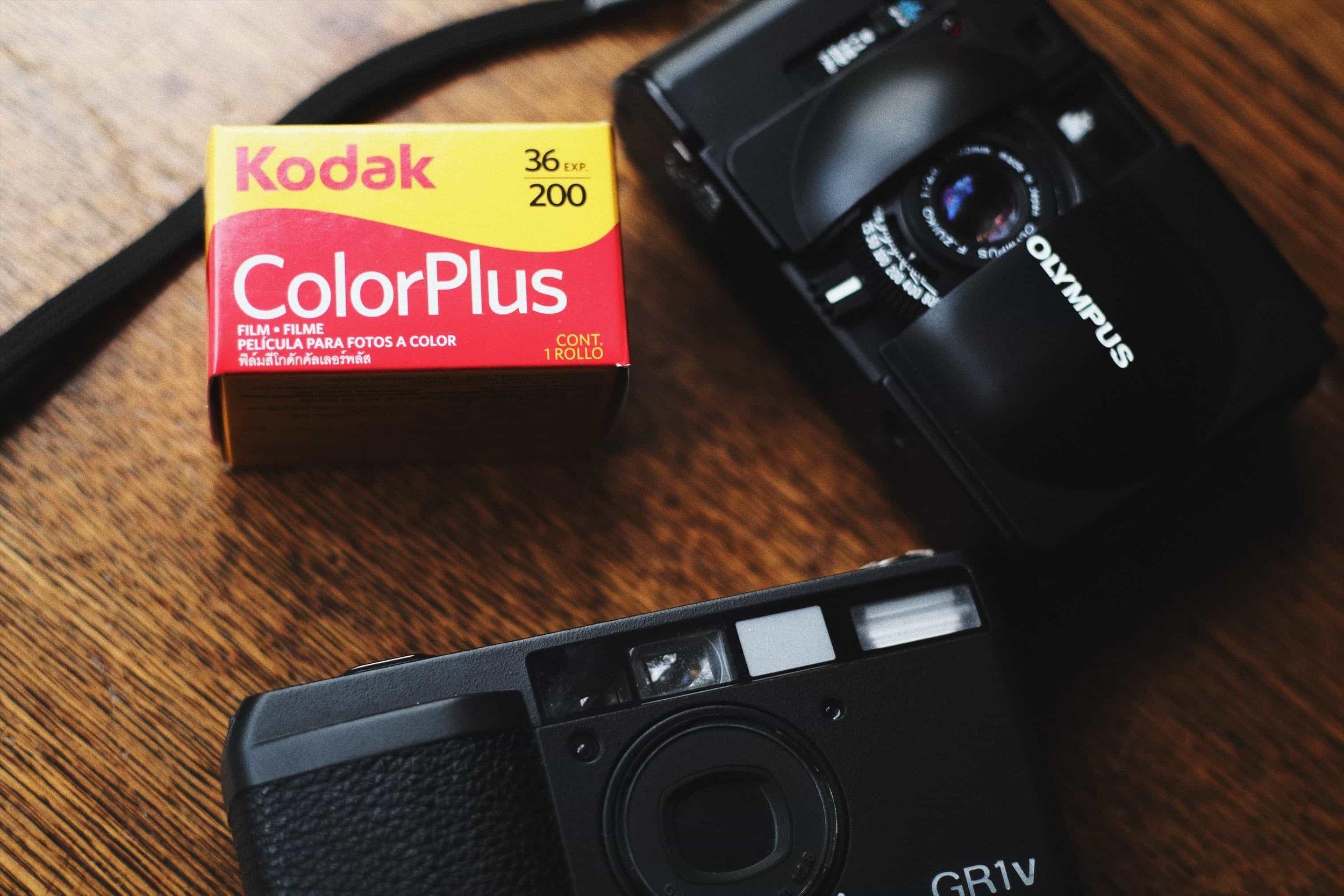 One Roll - Kodak ColorPlus 200 - Dean Engson