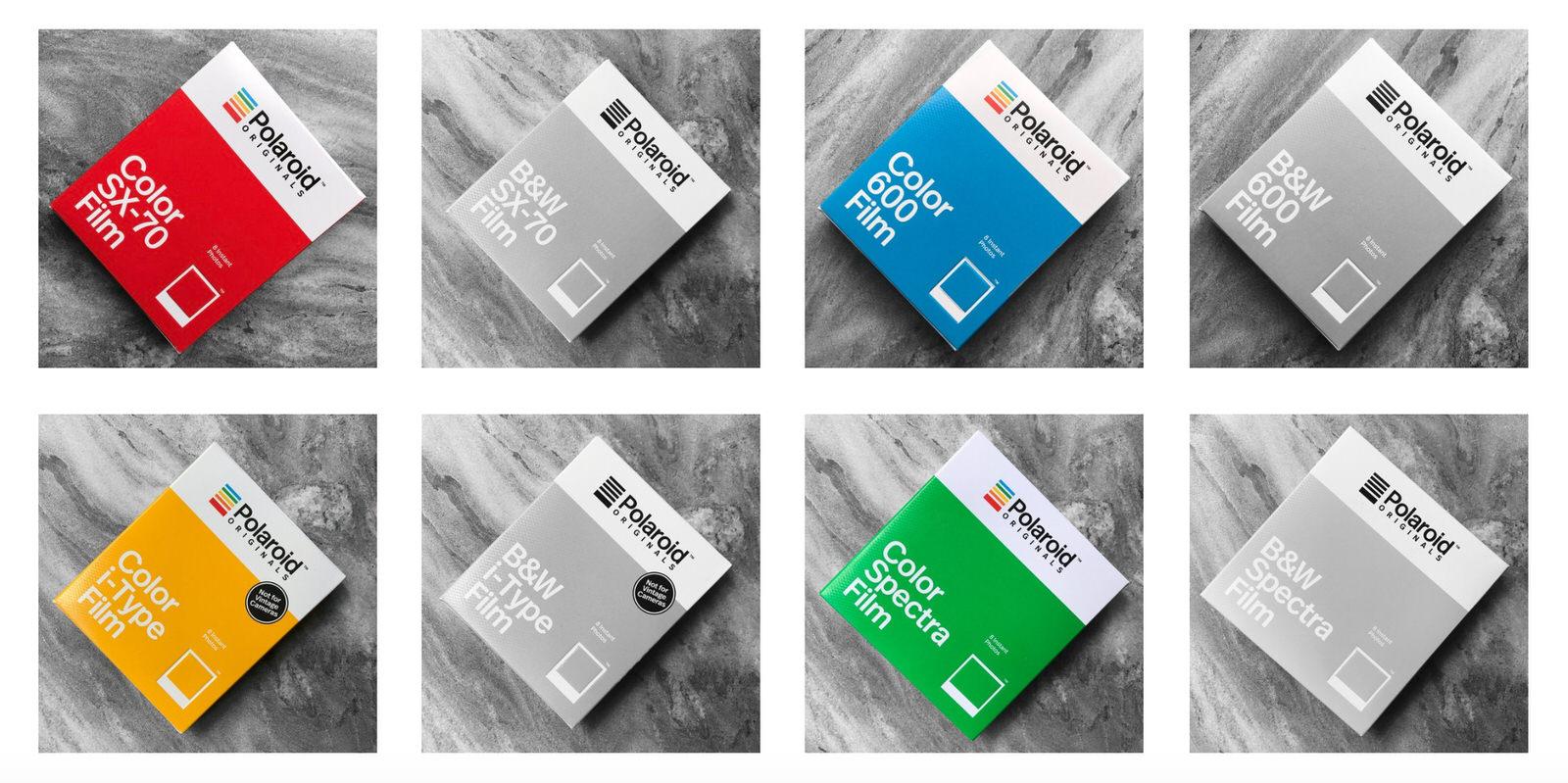 Polaroid Originals Range