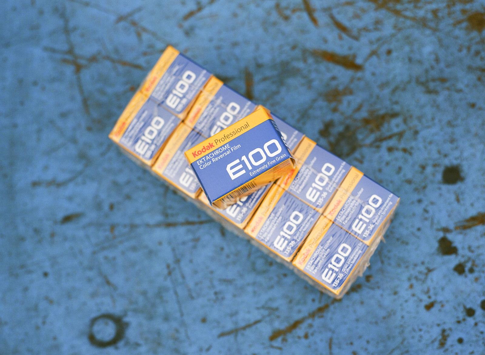 ektachrome box E100 KODAK