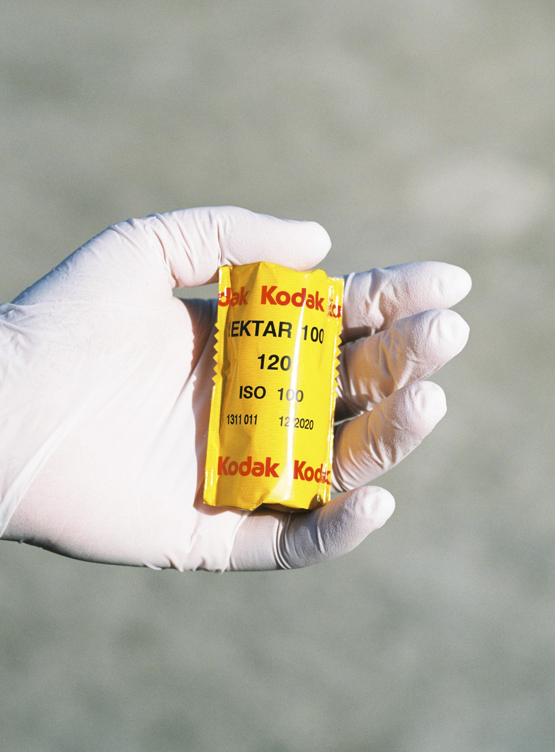 ektar 120 film packaging