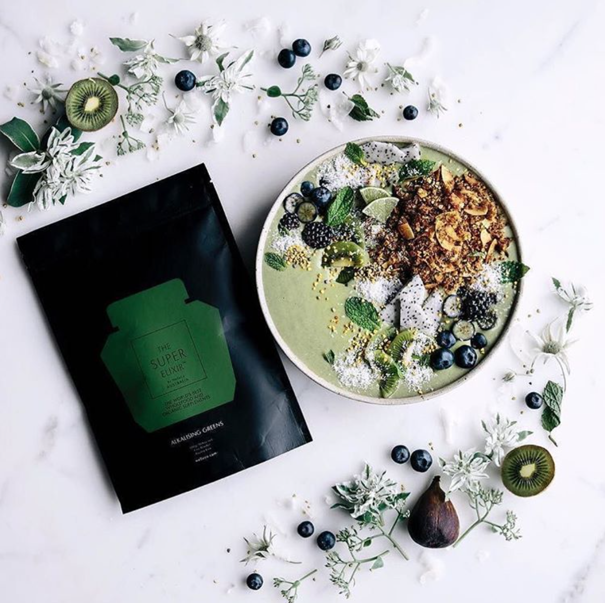 Green Super Smoothie - Alkalising Greens 300g pouch.png