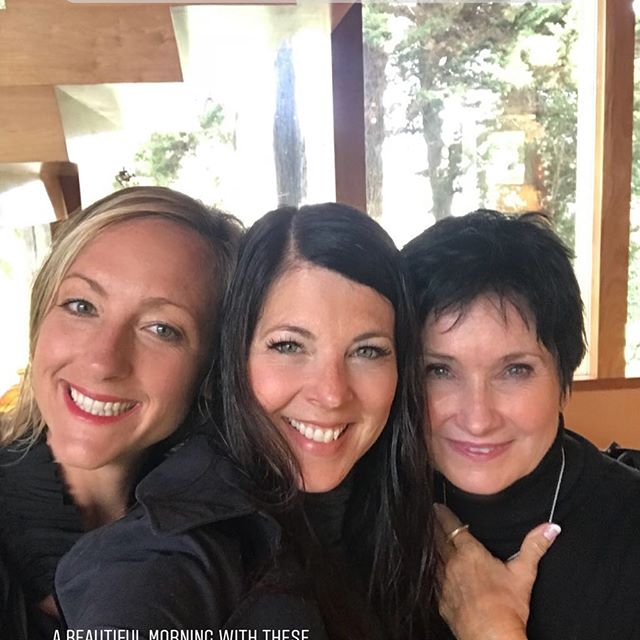 So grateful to have these two incredible women in my life ❤️#love #angels #beauty #feminineenergy #powerfulwomen #soulconnection #spaday