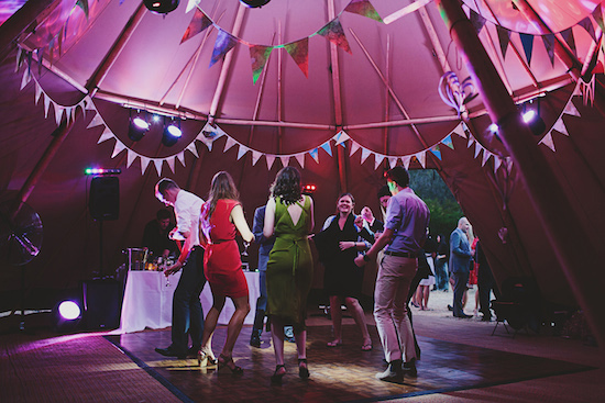 The Tipis were amazing and worked beautifully. We had a brilliant party and everyone commented on the spectacular setting.    Emily and Brian