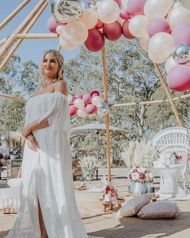 One of our fav photos from our latest styled shoot! Tap to See the team of truly wonderful vendors, or see below 🙌🏼 Venue @providencegully Photographer @wadehome_ Model @jess_and_tribe Floristry/Styling @flawlesseventcreations Candles @soyivyaustralia @aromapotsoycandles @candlekiosk Dress @co_and_ry Hair/Makeup @megan_gerlach_ Catering @happycamperpizza @thebotanist.au  Cake @_youcakemecrazy_ Furniture @modernlovestyleco @restoregrace @merakiandrose Balloons @99luftbendigo Jewellery @redkicouturejewellery Shoes @luludu_collective • • • #diywedding #weddinginspiration #weddingstyle #melbourne #bride #victoria #weddingdress #weddinginspiration #tipihiremelbourne #bohobride #tipikata #countrywedding #victoriawedding #tipihirevictoria #eventhire #weddingflowers #weddingstyle #weddingplans  #wedding2019 #melbournewedding #melbourneevents #centralvictoria #melbournecbd #gippsland #morningtonpeninsula #geelong #greatoceanroad #bendigo #ballarat #bellarinepeninsula #teepeewedding #tipiwedding