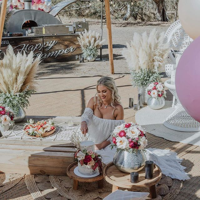 Another of our favourite photos from from this gorgeous shoot! 🙌🏼💕 Venue @providencegully Photographer @wadehome_ Model @jess_and_tribe Floristry/Styling @flawlesseventcreations Candles @soyivyaustralia @aromapotsoycandles @candlekiosk Dress @co_and_ry Hair/Makeup @megan_gerlach_ Catering @happycamperpizza @thebotanist.au  Cake @_youcakemecrazy_ Furniture @modernlovestyleco  Soft Furnishings @restoregrace @merakiandrose Balloons @99luftbendigo Jewellery @redkicouturejewellery Shoes @luludu_collective • • • #diywedding #weddinginspiration #weddingstyle #melbourne #bride #victoria #weddingdress #weddinginspiration #tipihiremelbourne #bohobride #tipikata #countrywedding #victoriawedding #tipihirevictoria #eventhire #weddingflowers #weddingstyle #weddingplans  #wedding2019 #melbournewedding #melbourneevents #centralvictoria #melbournecbd #gippsland #morningtonpeninsula #geelong #greatoceanroad #bendigo #ballarat #bellarinepeninsula #teepeewedding #tipiwedding