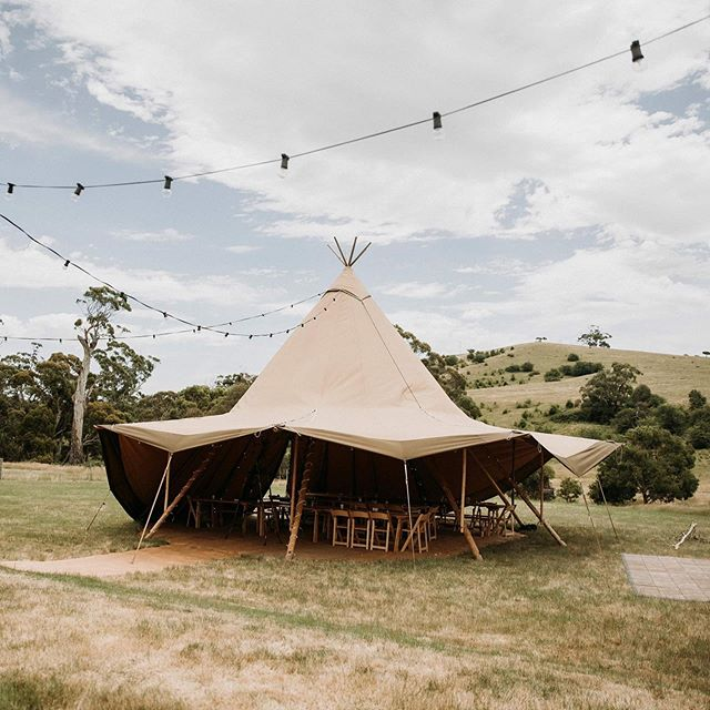 Serenity | As much as we love a huge wed-fest, the intimacy and warmth of a small wedding really appeals to us. Surrounded by your nearest and dearest in our serene, Victorian countryside... how perfect. • Dani and Tim's beautiful Tipi setup, captured by @aleksandarjasonweddings • • • #diywedding #weddinginspiration #weddingstyle #melbourne #bride #victoria #weddingdress #weddinginspiration #tipihiremelbourne #bohobride #tipikata #countrywedding #victoriawedding #tipihirevictoria #eventhire #weddingflowers #weddingstyle #weddingplans  #wedding2019 #melbournewedding #melbourneevents #centralvictoria #melbournecbd #gippsland #morningtonpeninsula #geelong #greatoceanroad #bendigo #ballarat #bellarinepeninsula #tipiwedding #melbournepartyhire