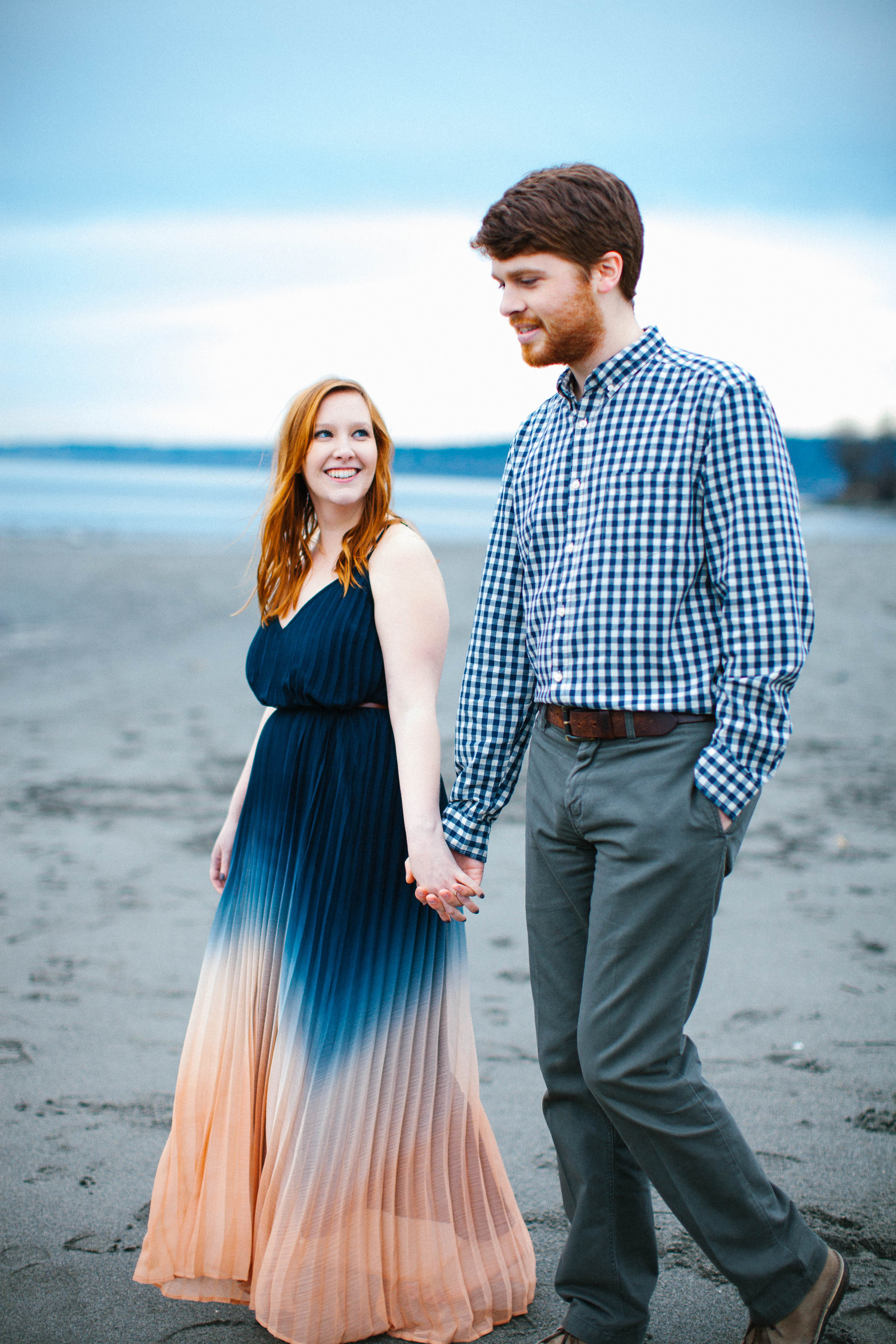 Seattle Fall Engagement Photography