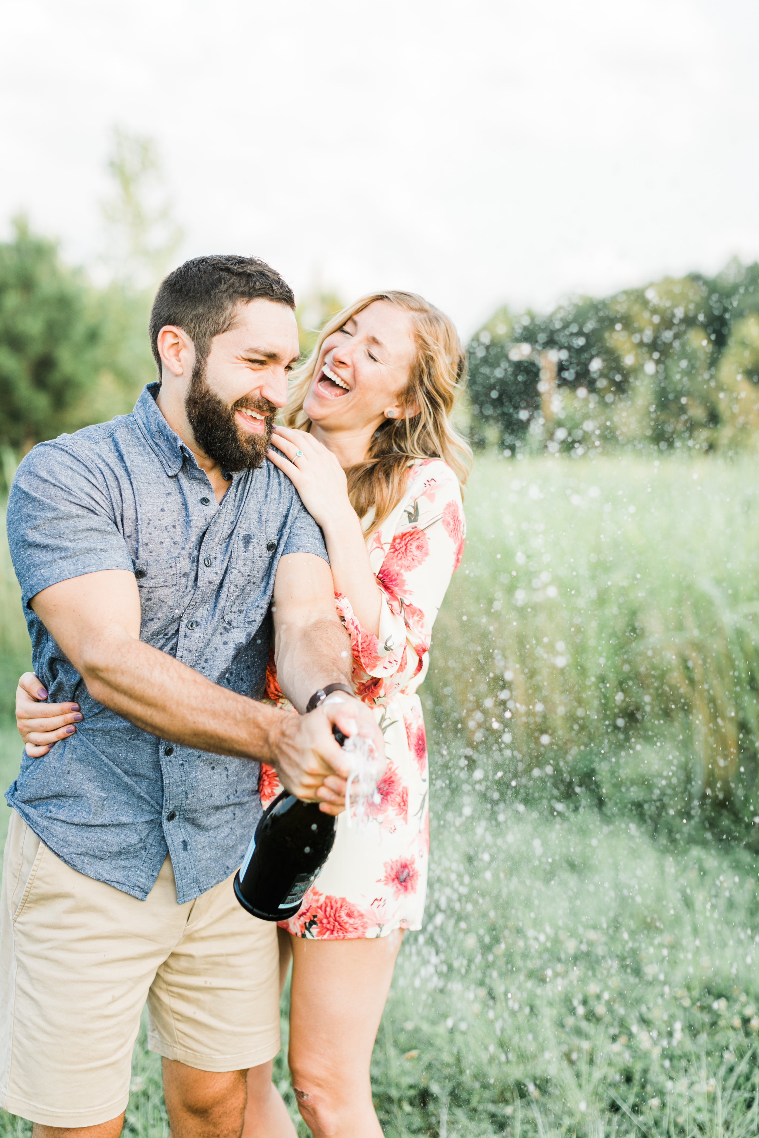 Raleigh Summer Engagement Photography