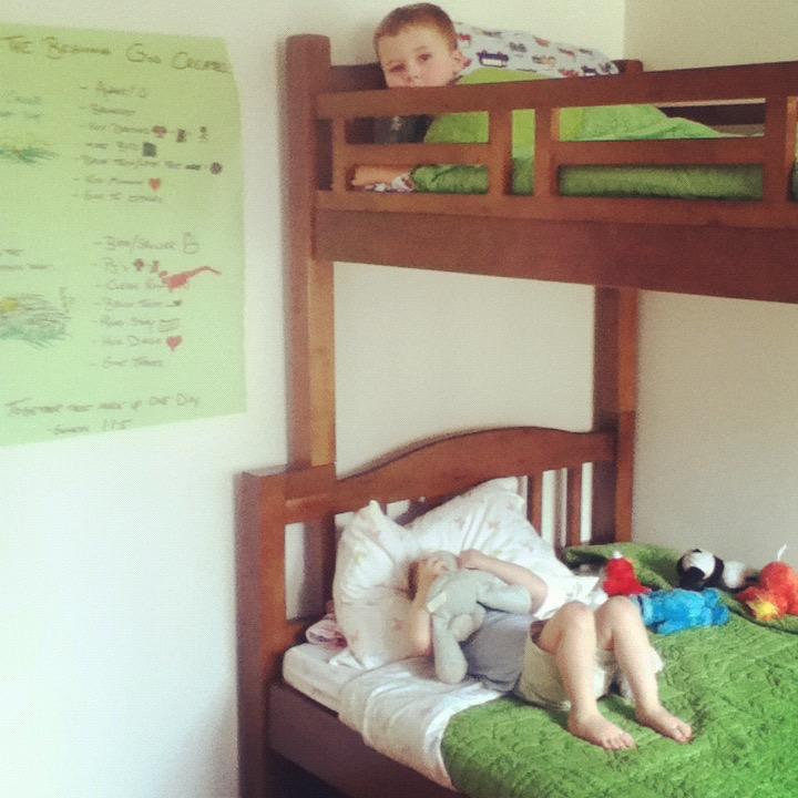 Judah and Eden's first bedroom.