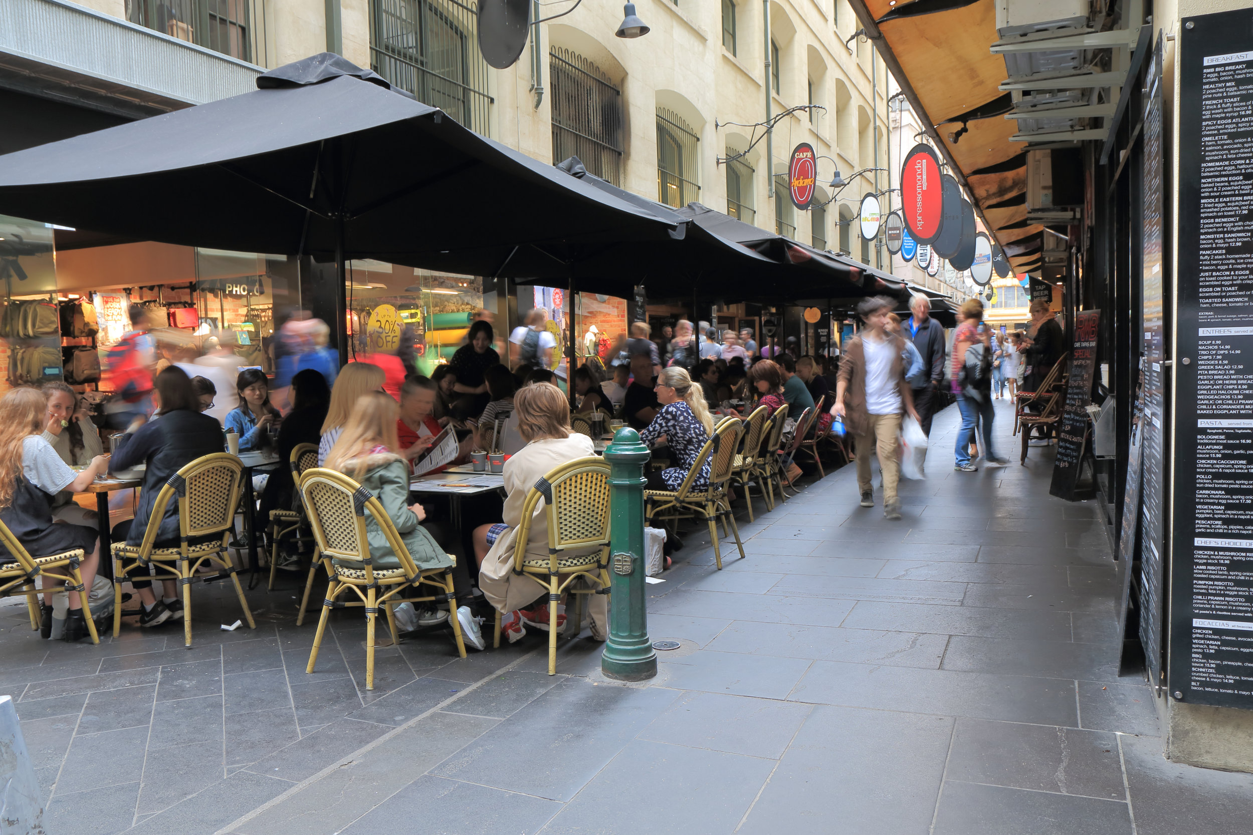 Melbourne Shopping Experiences Degraves Street