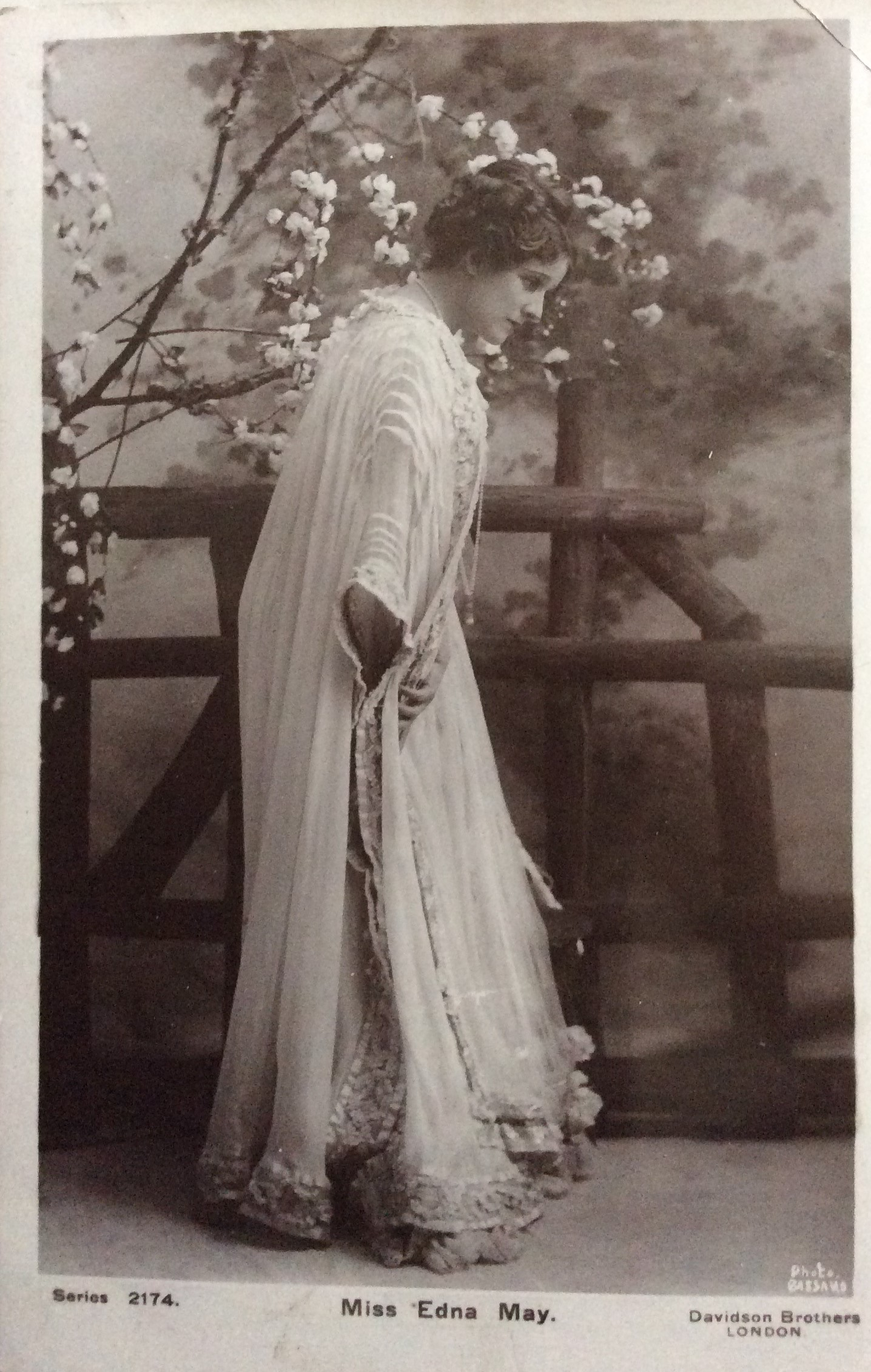 1906 Film Star on a Postcard