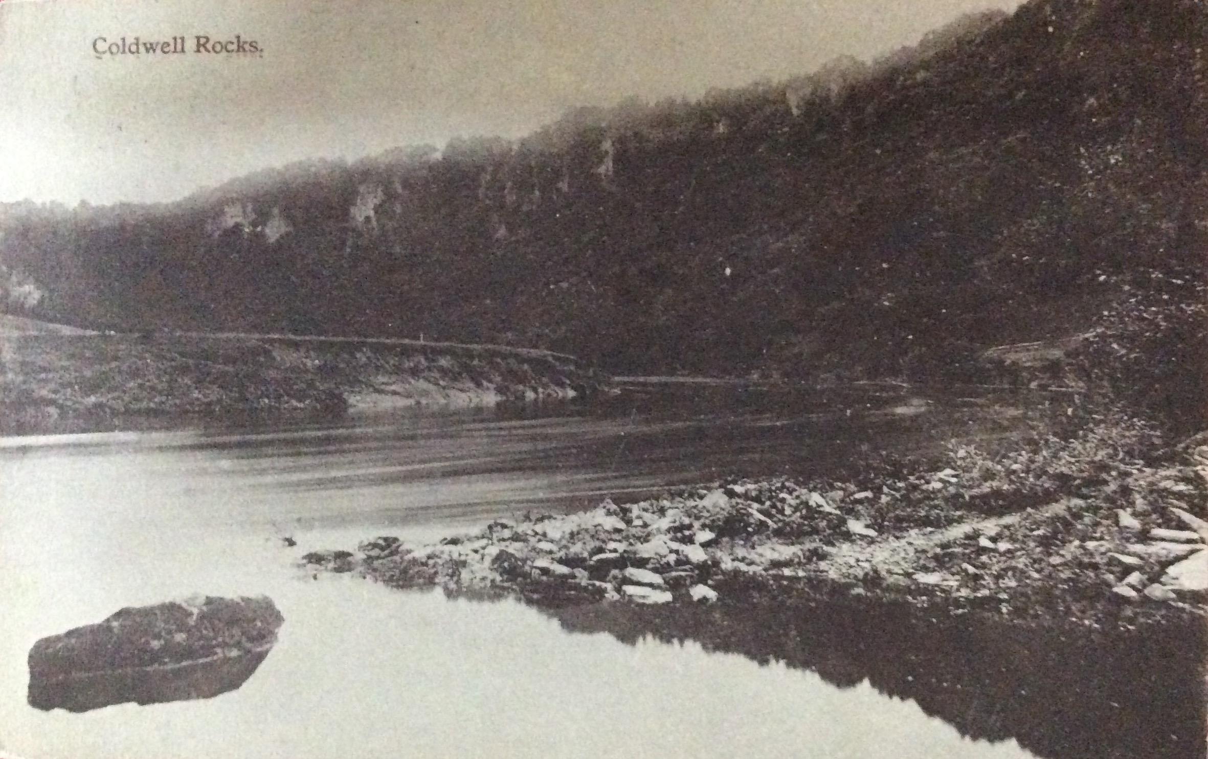 1912 Coldwell Rocks looks uninviting
